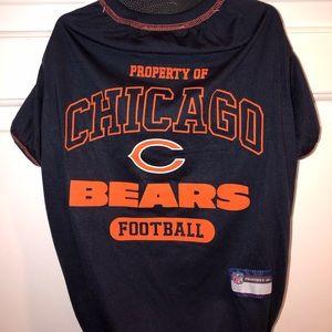 Chicago Bears Dog Jersey Size Large NWT